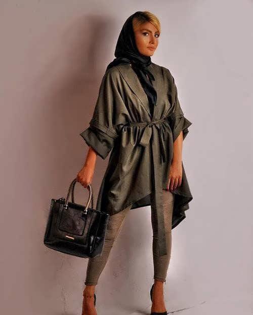 مانتو ایرانی دخترانه شیک