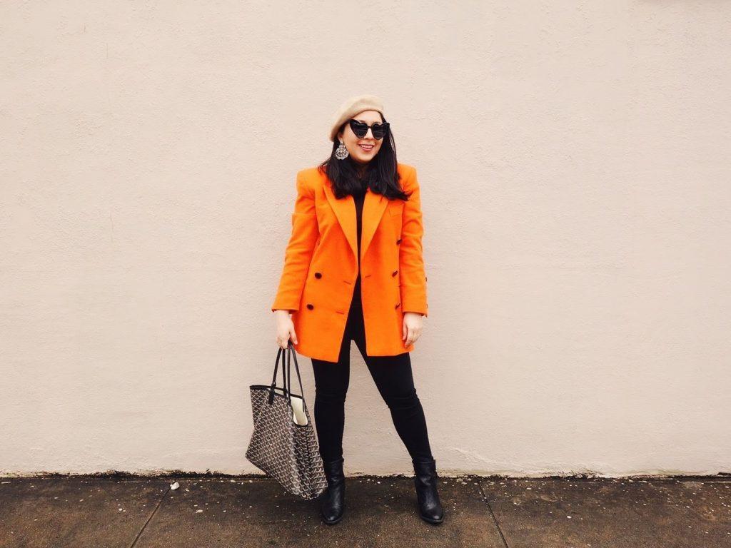 مدل مانتو پرتقالی دخترانه